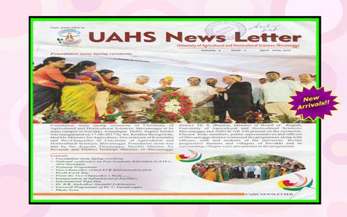 UAHS News Letter