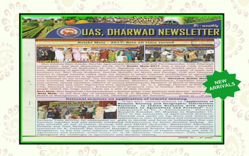 UAS, Dharwad Newsletter