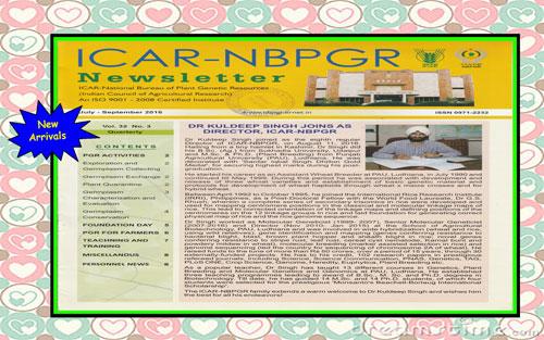 ICAR-NBPGR Newsletter